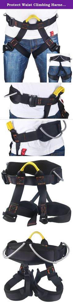 "Protect Waist Climbing Harness, Oumers Protect Leg Waistbelt Wider Safe Seat Belts For Mountaineering Fire Rescue Higher Level Caving Rock Climbing Rappelling Equip Women Man Child Half Body Black. Why Oumers: Oumers INC. mainly engaged in the development and export of Smart Gagdet, bluetooth & wireless products, and other High-tech electronic products. Products of high quality, stylish design. Oumers has always adhered to "" High quality products , good customer experience"" business..."