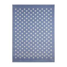Vloerkleed Sterren Lichtblauw 120x160cm