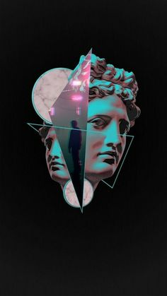 Vaporwave inspired art, etc. // Links to r/VaporwaveArt and I couldn't find image on the first couple of pages, so unsure as to who to credit Tumblr Wallpaper, Wallpapers Tumblr, Galaxy Wallpaper, Wallpaper Backgrounds, Wallpaper Art, Hipster Wallpaper, Wallpaper Ideas, Vaporwave Wallpaper, Aesthetic Iphone Wallpaper