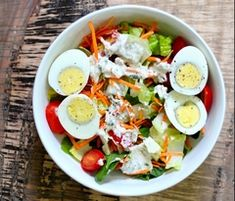 Healthy Recipes For Weight Loss, Healthy Salad Recipes, Healthy Soup, Healthy Eating, Eating Clean, Healthy Meals, Salad Recipes Video, Main Dish Salads, Nutrient Rich Foods