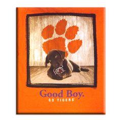 """Clemson """"Good Boy"""" Tshirt. GO TIGERS!"""