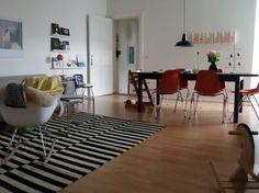 Neues Wohn /Esszimmer, Tags Wohnen + Schwarz Weiß + Zimmer + Eames