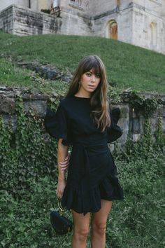 Pinterest board: @desi_galapagos Ruffle Wrap Dress | Jenny Cipoletti of Margo & Me