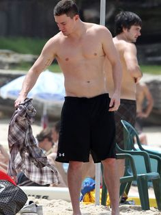 We'd spend ANY day at the beach with Channing Tatum!