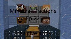 Minecraft Factions Free give away Ep 22 on cosmic pvp alien planet season 2