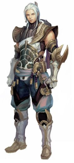Early Aion armor concepts. AKA the nub armor... - The Art of Aion Online