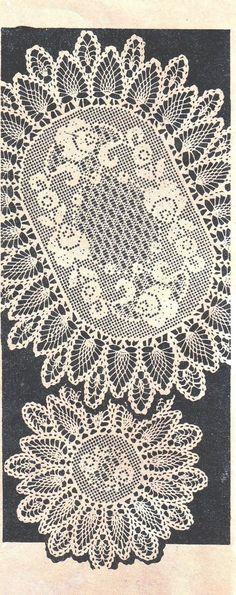 Diy Crochet Doilies, Vintage Crochet Doily Pattern, Crochet Flower Patterns, Crochet Crafts, Vintage Patterns, Crochet Roses, Fillet Crochet, Pineapple Design, Pineapple Crochet