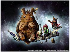 Totoro x Guardians