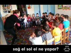 Orff Eğitimi - Sağ El Sol El Ne Yapar Şarkısı - Evde Okul Öncesi