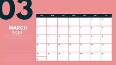 Cute April 2019 Calendar Template Aprilcalendar April2019calendar