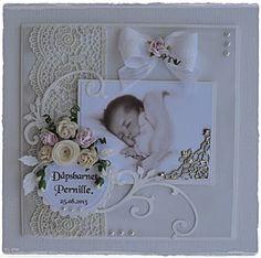 Tussa E-post :: 👶 Anbefalte Pins i Baby girl cards Baby Girl Scrapbook, Wedding Scrapbook, Baby Girl Cards, New Baby Cards, Scrapbooking Layouts, Scrapbook Cards, Baby Mini Album, Baby Barn, Wedding Cards Handmade