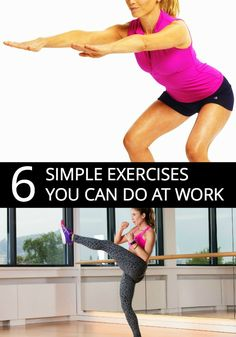 office desk exercises to lose weight