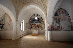 Chiesa Sant'Antonio Abate, Morcote Voyage Bali, Early Christian, Medieval Art, San Antonio, Switzerland, Architecture, Painting, Arquitetura, Painting Art
