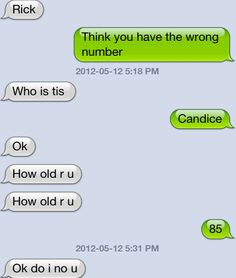 The greatest text message conversation of all time, with a ...
