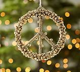 Bell Peace Sign Ornament Benefiting St. Jude