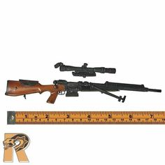 French Foreign Legion - FR F2 Sniper Rifle - 1/6 Scale - ACE Action Figures