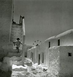 Mykonos island, Photograph by Voula Papaioannou Benaki Museum - Photographic Archives