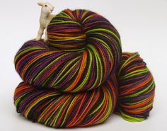 Made To Order Hand Dyed Fingering/Sock Yarn Self by Quaere on Etsy