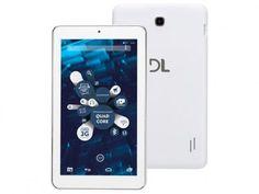 """Tablet DL 2 em 1 X-Quad Note 8GB Tela 7"""" Wi-Fi - Android 5.1 Quad-Core Câm. 2MP + Frontal 0.3MP com as melhores condições você encontra no Magazine Micelanea. Confira!"""
