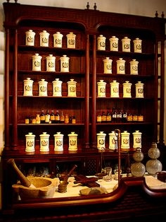 Antigua Botica - one of my favorite places in Antigua Guatemala. An vintage apothecary