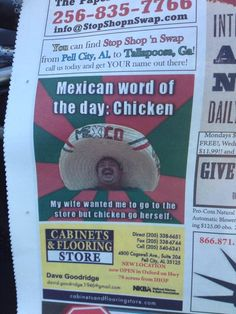 Mexican word of the day. - http://www.theladbible.com/albums/evening-ladness-454/image/feeb17b0-70e8-11e4-a47a-d4ae52c74096
