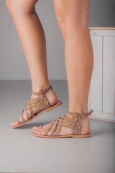 Sandalias de cuero de griego hecho a mano por TheMerakiCompany