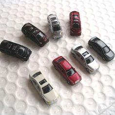 50 pcs N Scale painted Model Cars N gauge