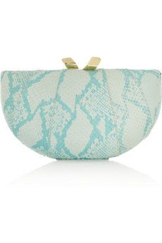 Kotur Melon elaphe clutch | THE OUTNET