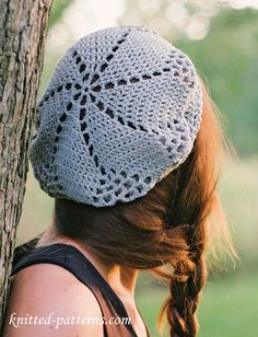 Free Crochet Pattern Mens Beret : 1000+ ideas about Crochet Beret Pattern on Pinterest ...
