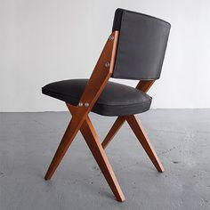 José Zanine Caldas; Side Chair, 1950s.