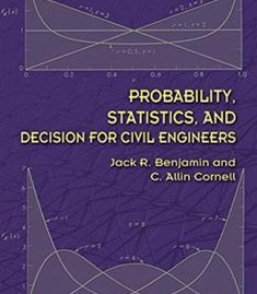 Probability Statistics And Decision For Civil Engineers PDF