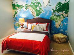 eDesign Client Room: Henry's Aviation Adventure Room Little boy room