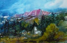 """Big Sky Journal - #Artist of the West: Ray Campeau, """"Looking East from Virginia City"""" 