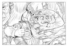Drawing-The Storyteller .#conceptart #novel #inks #inked #character #characterdesign #believe #magic #fairy #fairytale #dragon #unicorn #storybook #giant #lost #friends #love #stargazers #hero #heroes #adventure #fantasy #concept #art #design #elmore #valdore #bulldrum #goblins #gnomes #fairy #fairykingdom #wizard #witch #knight #cowboy #blackbeard #pirate #parrot #bedtime #book #bedtimestory