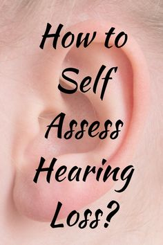Hearing loss or Deafness has a lot of stigmas associated with it, we often ignore its subtle signs. Wellness Fitness, Health And Wellness, Health Fitness, Hearing Aids, Healthy Habits, Workout Programs, Assessment, Self, Facts