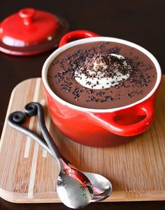 Chocolate Soup for Two