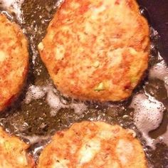 These patties are delicious and I enjoy them for lunch, dinner or for a snack.  Who knows, you may want them for breakfast too!  A squirt of lemon is a tasty addition! Nutritional Servings:  105 calories 4.5 grams Fat .6 grams Carbs 15.1 grams Protein  Recipe from Jennifer Malena-Brady