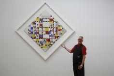 "Piet Mondriaan, Victory Boogie Woogie, 1942-1944. - Cees Peters: 'Voor mij is Mondriaan ""the be-all and end-all"" van wat moderne kunst is.'"