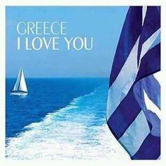 ~With Love, From Santorini Greece Corfu Greece, Santorini Greece, Athens Greece, Crete, Kavos Corfu, Greek Sea, Greek Girl, Malta, Old Posters