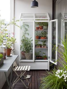 Create a stand of plants If you're short on space, then how about taking a nod from the trend of vertical gardening and creating a plantstand in your home? This design from Kekkila has plenty of