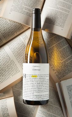 Wine Llavors Blanc su Packaging of the World – Galleria di Creative Package Design - Ideas Debebidas Wine Bottle Design, Wine Label Design, Wine Bottle Labels, Liquor Bottles, Wine Searcher, Wine Photography, Wine Brands, Bottle Packaging, Wine And Beer