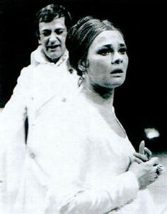 Judi Dench as Hermione in The Winter's Tale, directed by Trevor Nunn, Royal Shakespeare Theatre, 1969
