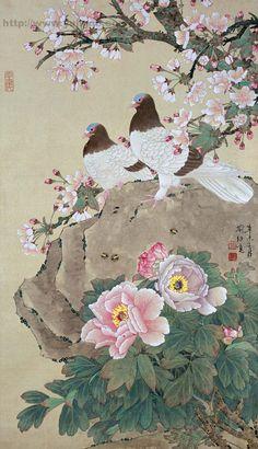 喻继高 国画 - 香儿 - xianger