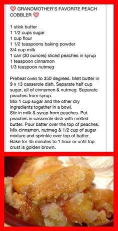 Fruit Recipes, Sweet Recipes, Baking Recipes, Dessert Recipes, Fruit Cobbler, Cobbler Recipe, Apple Cobbler, Muffins, Cake