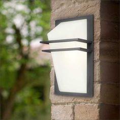 Vegglamper utendørs : Utelampe PARK 220-240V 1x60W E27 IP44