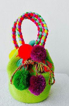 Crochet Chart, Crochet Patterns, Diy Bags Easy, Easter Gift Bags, Mochila Crochet, Diy Clutch, Ethnic Bag, Potli Bags, Fabric Bags