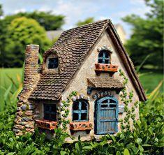 The Fairview House Miniature Fairy Garden