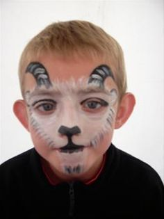 Looby Lou Face Painting 5 Old Barn Court, Hereford, Herefordshire, Jungle Animals, Animals For Kids, Farm Animals, Face Painting For Boys, Face Painting Designs, Sheep Face, Animal Face Paintings, Nativity Costumes, Christmas Face Painting