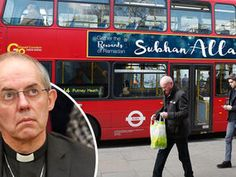 BUS adverts are set to carry a slogan praising Allah just months after a clip featuring the Lord's prayer was banned from cinemas.