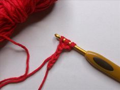 Great tips for removing the ugly gap that longer stitches, leave at the beginning of rows.